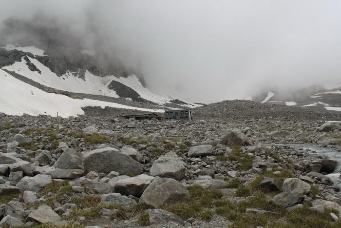 последние метры до базового лагеря Верхняя АлаАрча