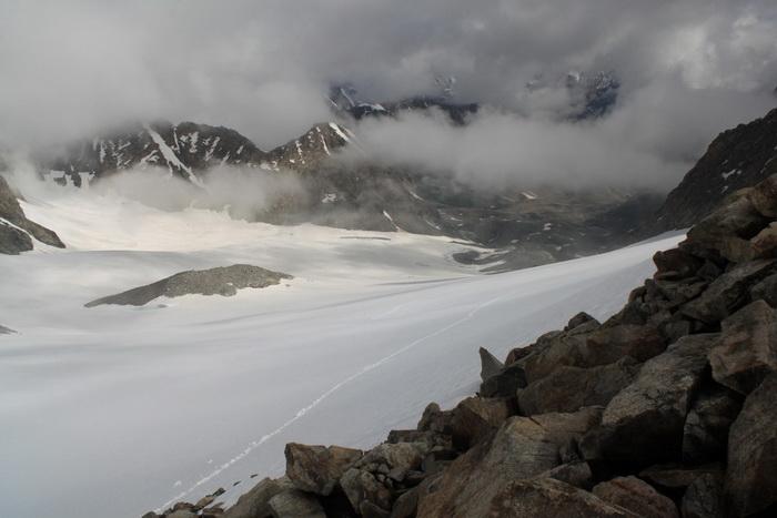 ледник Верхняя АлаАрча