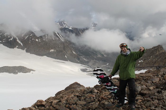 Большой Ала-Арчинский ледник. сноуборд экспедиция.