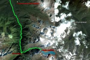 Маршрут по Каракольскому ущелью