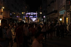 культовая улица Истикляль
