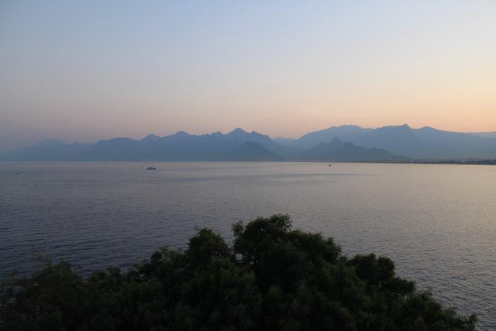 Средиземное море. Анталья.