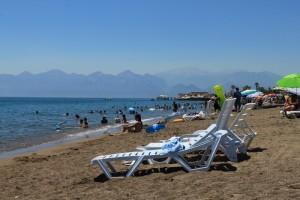 Анталья. Пляж Лара.