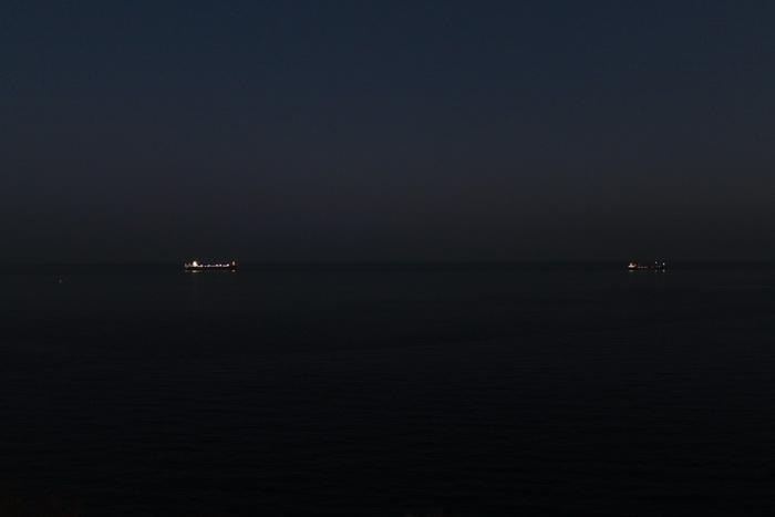 Анталья. Корабли в море.