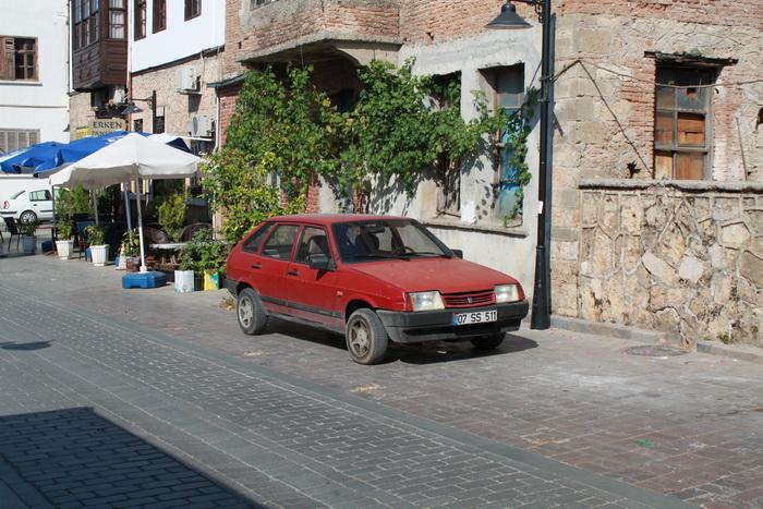 российский автопром на улицах Турции