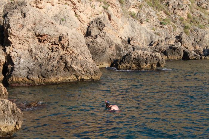 снорклинг в средиземном море