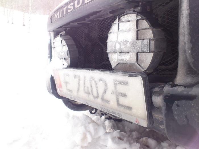 Всепроходимая Mitsubishi Delica.