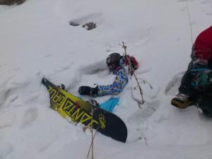 Глубокий снег в Ак-Тюзе.
