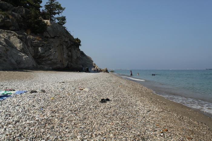 пляж Топчам. Анталия.