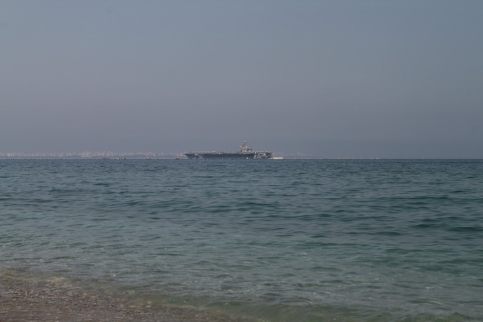 Корабли в Средиземном море. Анталия.