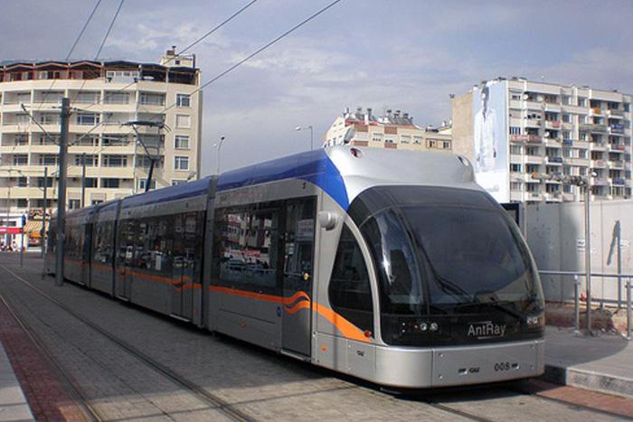 AntRay - наземное метро Антальи.