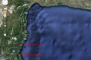 План поездок по округе Кемера.