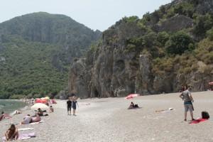 Пляж Олимпоса.
