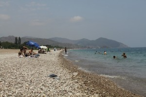 Пляж Чирали.