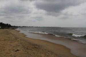 Негомбо. Пляж.