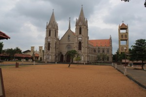 Негомбо. Церковь Святого Себастьяна.