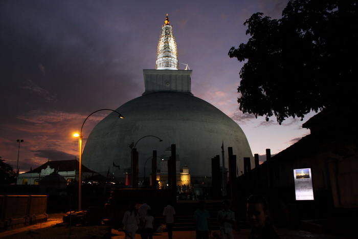 Анурадхапура. Дагоба Руанвели.