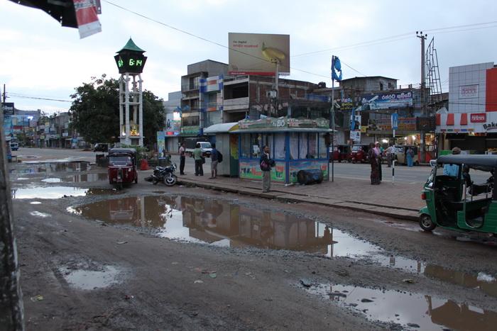 Анурадхапура. Новый автовокзал.