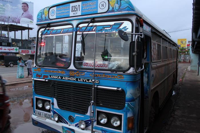 Анурадхапура. Автобус в Михинтале.