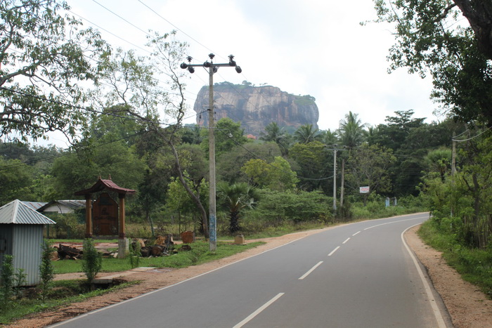 Шри-Ланка. Сигирия. Скала льва.