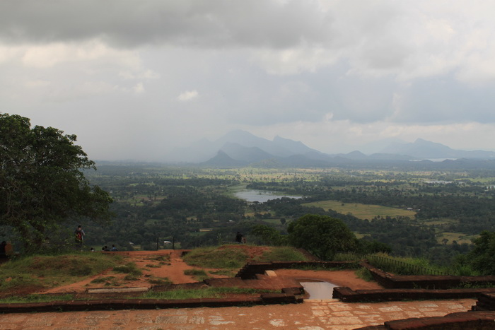 Шри-Ланка. Сигирия. Вид с вершины.