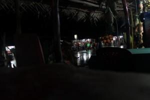 Шри-Ланка. Сигирия. Дождь. Ночь.