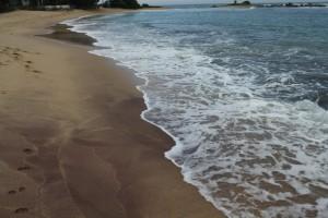 Тангалле. Фиолетовый песок.