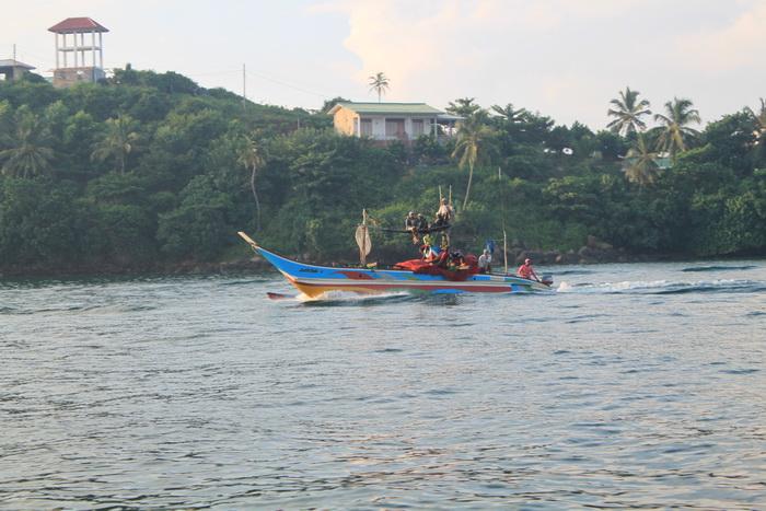 Мирисса. Рыбацкая лодка.