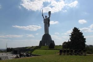 Киев. Родина-мать.