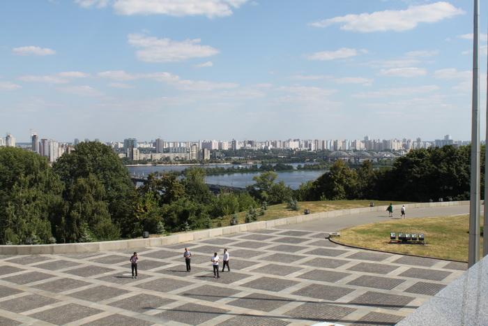 Панорама Киева.