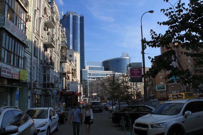 Улицы Киева.