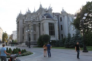 Киев. Дом с химерами.