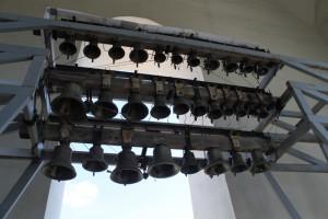 Киев. Колокола на колокольне Софийского собора.