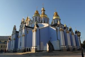 Киев. Михайловский Златоверхний монастырь.