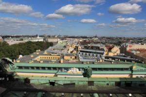 Санкт-Петербург. Исаакиевский собор. Панорама.