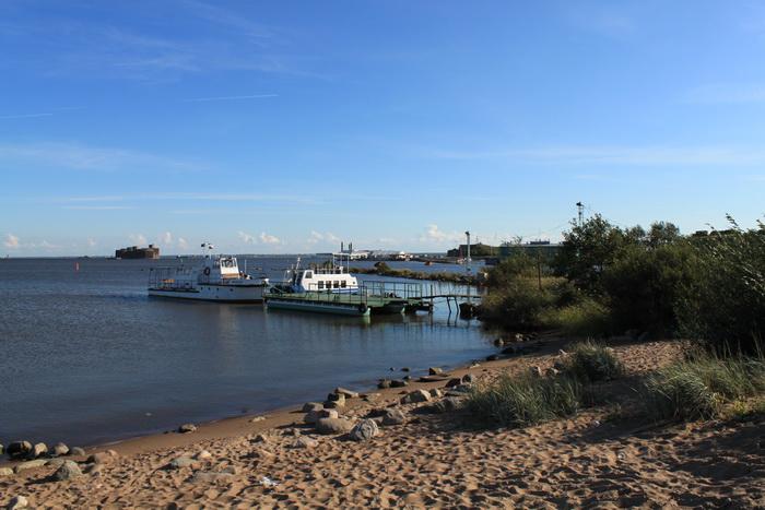 Финский залив. Форт.