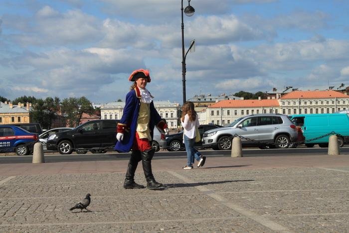 Санкт-Петербург. Сенатская площадь. А вот и сам Петр.