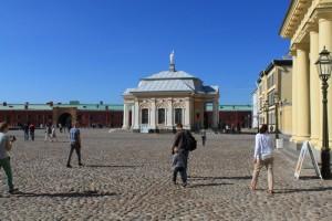 Санкт-Петербург. Петропавлоская крепость. Ботный домик.
