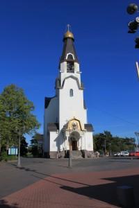 Сестрорецк. Церковь святых Петра и Павла.