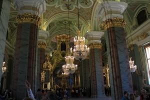 Санкт-Петербург. Собор Петра и Павла. Внутреннее убранство.
