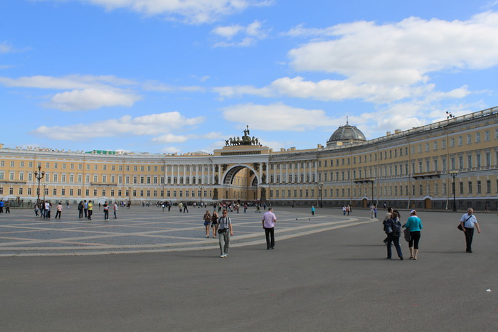 Санкт-Петербург. Дворцовая площадь.