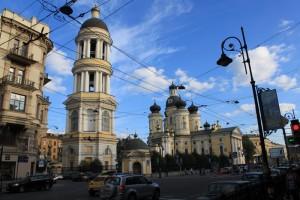 Санкт-Петербург. Владимирская церковь.