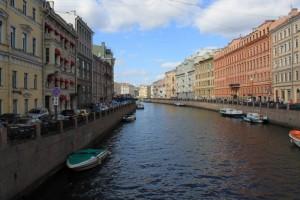 Санкт-Петербург. Невский проспект. Каналы.