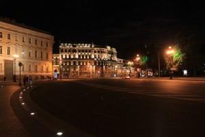 Санкт-Петербург. Подсветка ночного города.