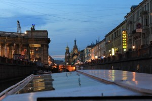 Санкт-Петербург. Экскурсия по рекам и каналам.