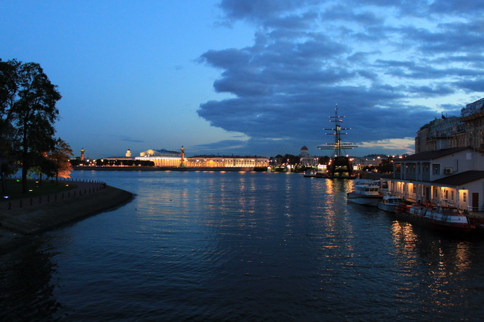 Санкт-Петербург. Огни города.