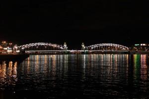 Санкт-Петербург. Большеохтинский мост.