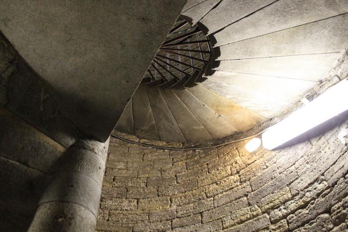 Санкт-Петербург. Исаакиевский собор. Лестница на колоннадую.