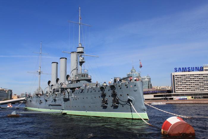 Санкт-Петербург. Крейсер Аврора.