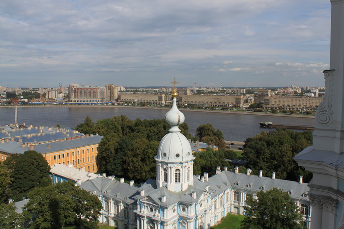 Санкт-Петербург. Смольный собор.